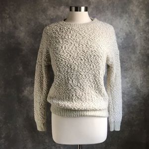Urban Outfitters Bycorpus Fuzzy Popcorn Sweater S